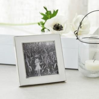 "The White Company Resin Photo Frame 3x3"", White, One Size"