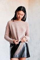 Silence & Noise Silence + Noise Velvet Chenille Pullover Sweater
