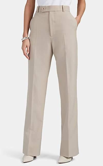 Helmut Lang Women's High-Rise Boot-Cut Trousers - Neutral