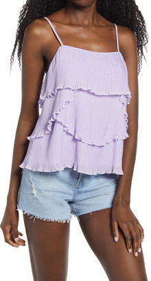 Endless Rose Tiered Ruffle Camisole