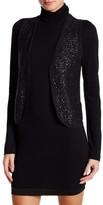 Zadig & Voltaire Sleeveless Sequin Wool Blend Vest