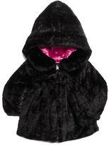Pacific Trail Kids Coat, Little Girls Appliqued Faux-Fur Jacket
