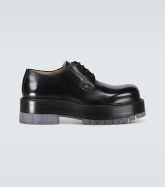 Bottega Veneta Derby shoes with platform soles