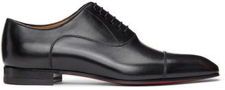 Christian Louboutin Black Greggo Orlato Lace-Up Loafers