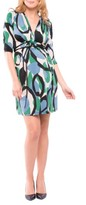 Olian Women's Lindsey Print Maternity Dress