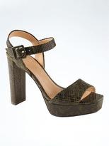 Banana Republic Platform High-Heel Sandal