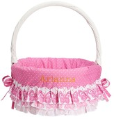 Pottery Barn Kids Ruffle Butterfly Easter Basket Liner Pink & Coral, Small