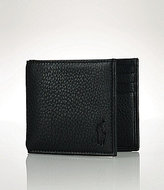 Polo Ralph Lauren Pebbled Leather Billfold
