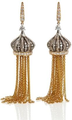 Annoushka Touch Wood Tassel Earrings