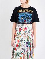 Gucci Hollywood tiger-motif cotton T-shirt
