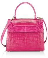 Thumbnail for your product : Nancy Gonzalez Medium Lily Crocodile Top Handle Bag