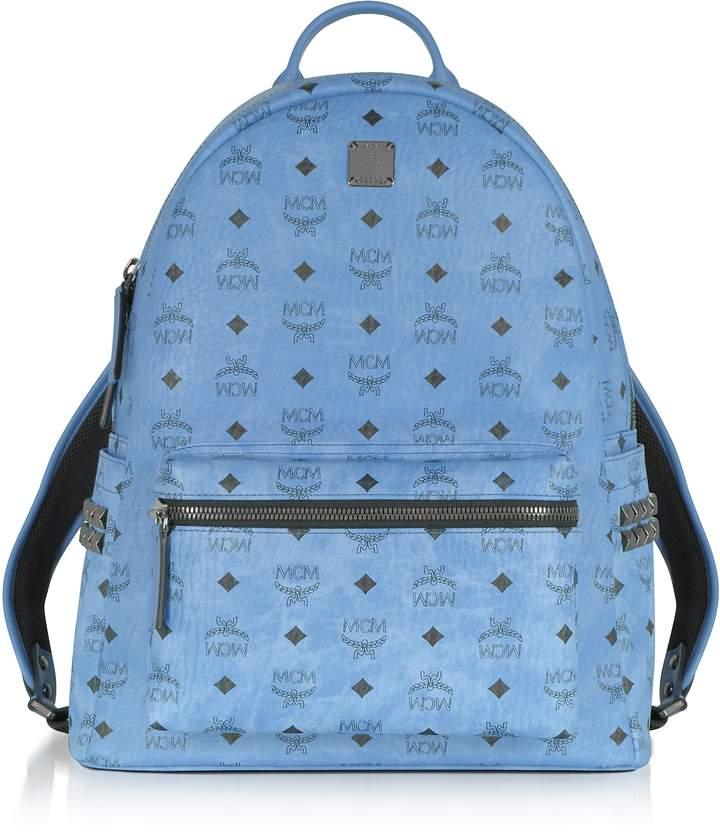 MCM Denim Medium Stark Backpack
