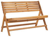 """One Kings Lane Outdoor Cabot 48"""" Folding Bench - Natural"""