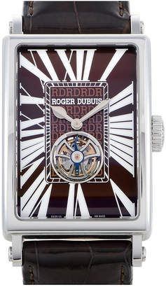 Roger Dubuis Heritage  Men's Leather Watch