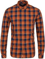 Timberland Picante Red Checked Slim Fit Shirt
