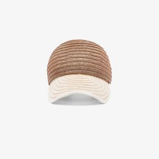 D ESTREE brown Raymond straw cap