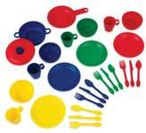 Kid Kraft 27-Piece Cookware Playset in Primary