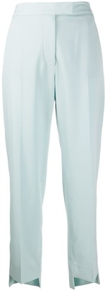 Stella McCartney High-Waist Slim Trousers