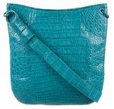 Nancy Gonzalez Crocodile Crossbody Bag