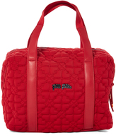 Folli Follie Red Heart Quilted Tote