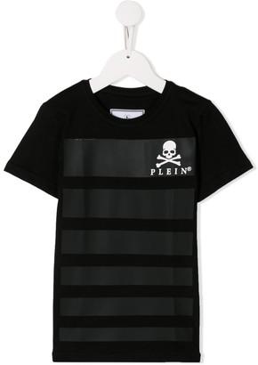 Philipp Plein Junior panelled T-shirt