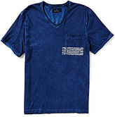 Buffalo David Bitton Nafly Short-Sleeve V-Neck Pocket Tee