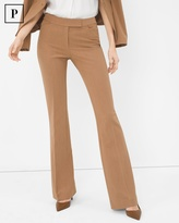 White House Black Market Petite Seasonless Slim Flare Pants