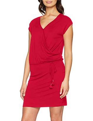 S'Oliver Women's 21.903.82.88 Dress, (Pink 4565), 20 (Size: 46)