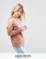 Asos Sweatshirt with Clean Cold Shoulder