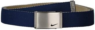 Nike Reversible Single Web (College Navy/Tan) Women's Belts