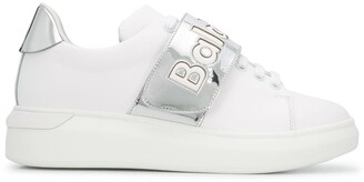 Baldinini Touch-Strap Low-Top Sneakers