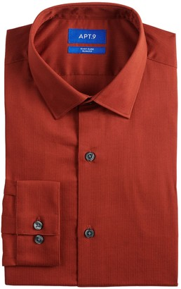 Apt. 9 Men's Slim-Fit Easy-Care Dress Shirt