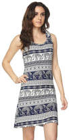 Ambiance Blue Elephant Dress
