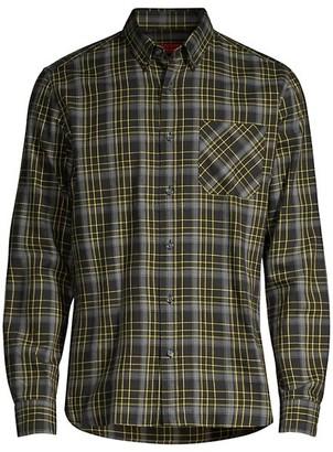 HUGO BOSS Ermann Relax-Fit Plaid Sport Shirt
