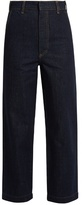 Raey Tailored denim cropped trousers