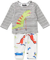 Joules Baby Boys Newborn-12 Months Byron Dinosaur Top & Printed Pants Set