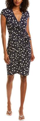 Maggy London Tie-Waist Mini Dress