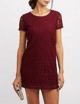 Charlotte Russe Lace Shift Dress
