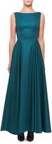 Alaia Sleeveless Cotton Full Skirt Dress