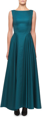 Alaia Sleeveless Cotton Full Skirt Dress