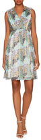 Paul & Joe Sister Aphrodite Silk Print Fit And Flare Dress