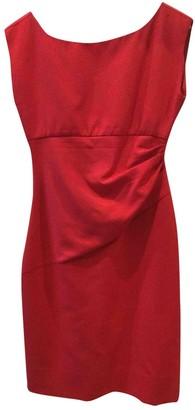 Diane von Furstenberg Red Polyester Dresses