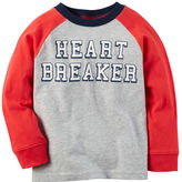 Carter's Long-Sleeve Heart Breaker Graphic Tee