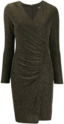 DKNY Ruched Fitted Dress