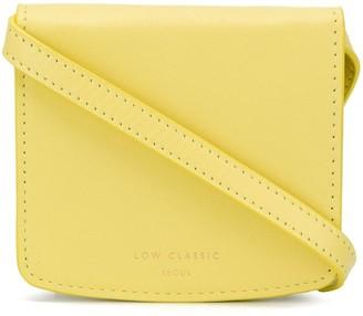 Low Classic Strap logo-print wallet
