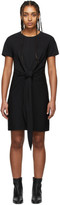 Rag & Bone Black Aimie Tie Dress
