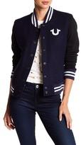 True Religion Souvenir Varsity Jacket