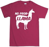 Customised Perfection No Problemo Prob llama Funny T Shirt L
