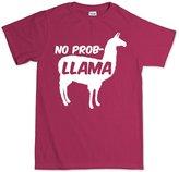 Customised Perfection No Problemo Prob llama Funny T Shirt XL
