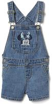 Gap babyGap | Disney Baby Minnie Mouse denim short overalls